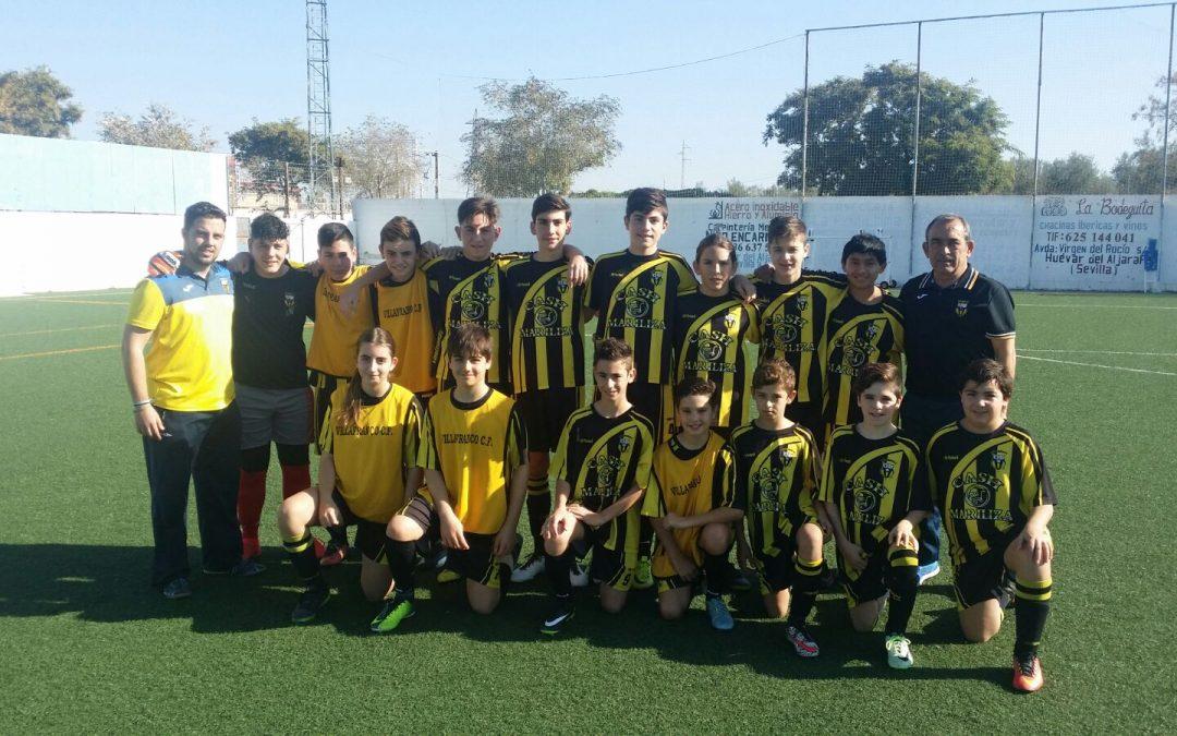 Huévar 0 – 4 Villafranco