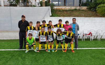 Primer partido de la temporada para el Alevín C